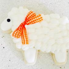 Laura Ann Celebrates - Sheep Cookie
