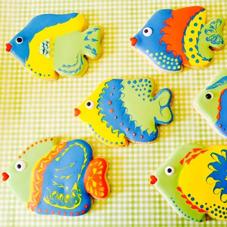 Laura Ann Celebrates - Fish Cookies